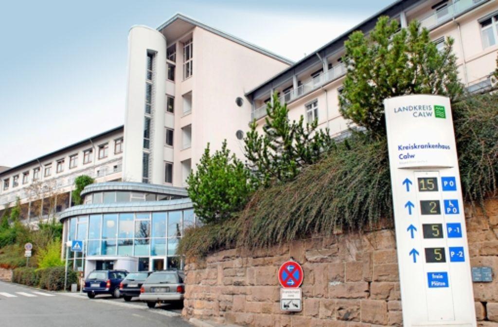 Die Calwer Klinik hat einen Foto: factum/Weise