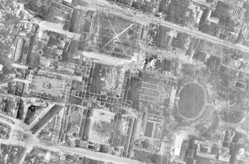 Exklusive Bilder von Stuttgart, Frühjahr 1945