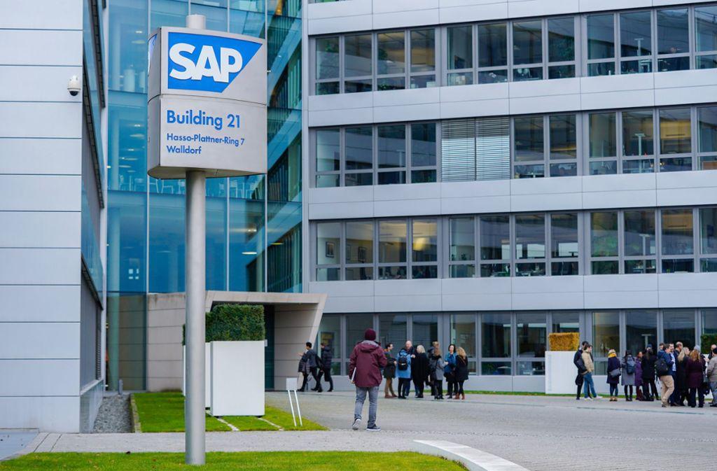 Europas größter Softwarehersteller SAP plant einen weiteren Umbau beim Personal. Foto: dpa