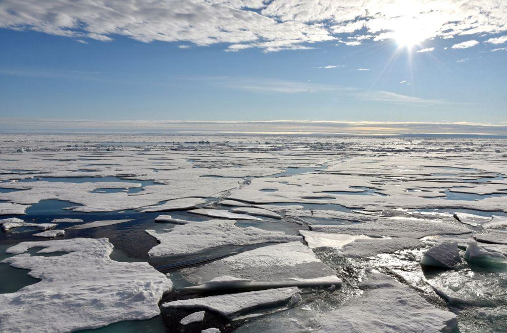 Der Umfang des arktischen Eises schrumpft immer weiter zusammen. Foto: dpa/Ulf Mauder