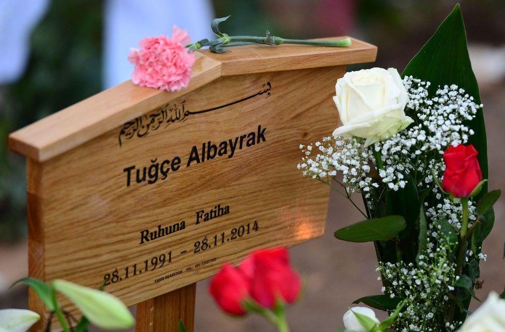 Der Münchner Amokläufer besuchte vor seiner Tat offenbar das Grab der getöteten Tugce. Foto: dpa