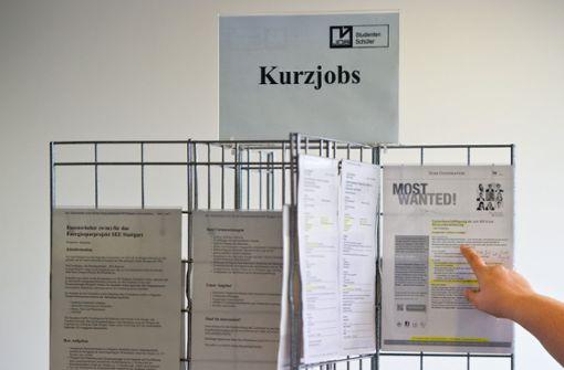 Arbeitslose Studierende sind in Not