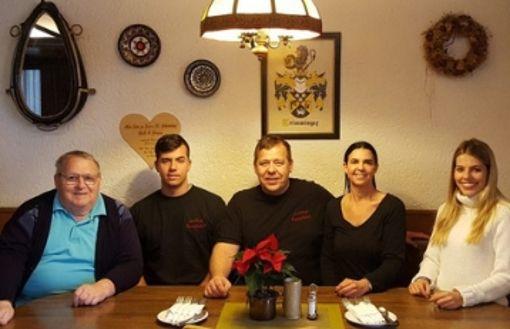Die Gaststätte Emerland fest in Familienhand