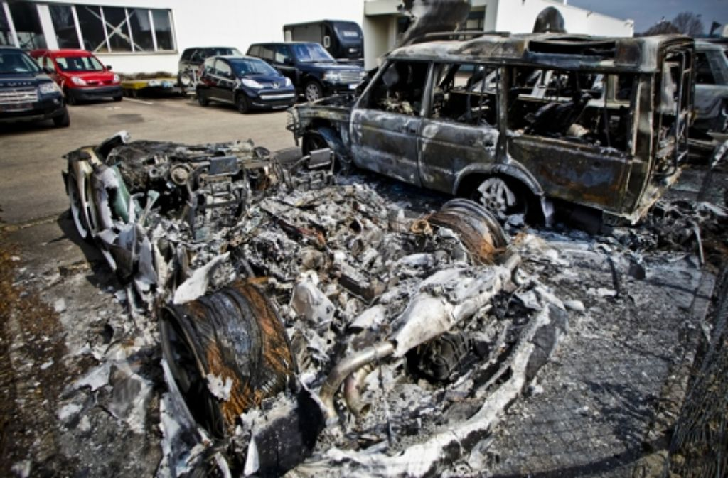 Der Brandstifter hatte es vor allem auf teuere Autos abgesehen. Foto: dpa