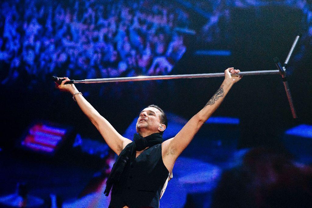 Depeche Mode in der Mercedes-Benz-Arena Foto: Stollberg