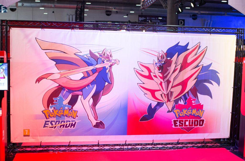 """Die neue Pokémon Generation """"Schwert"""" und """"Schild"""". Bei dem berichteten Bug gab die offizielle Pokémon-Community aus Spanien Entwarnung. Foto: imago images/Pacific Press Agency/Jorge Gonzalez"""