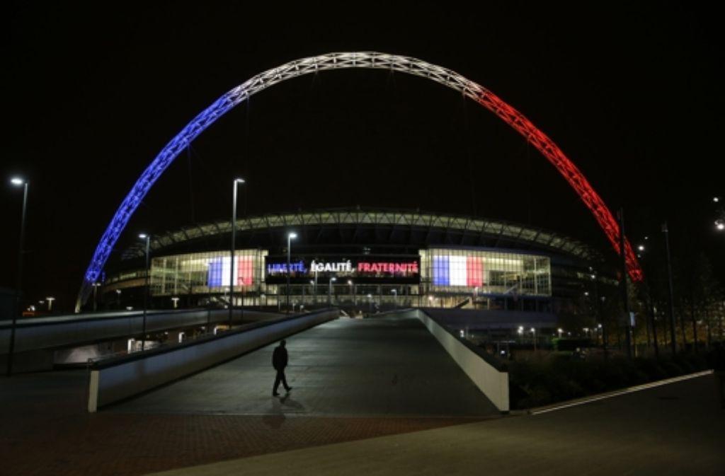 Länderspiel Frankreich England