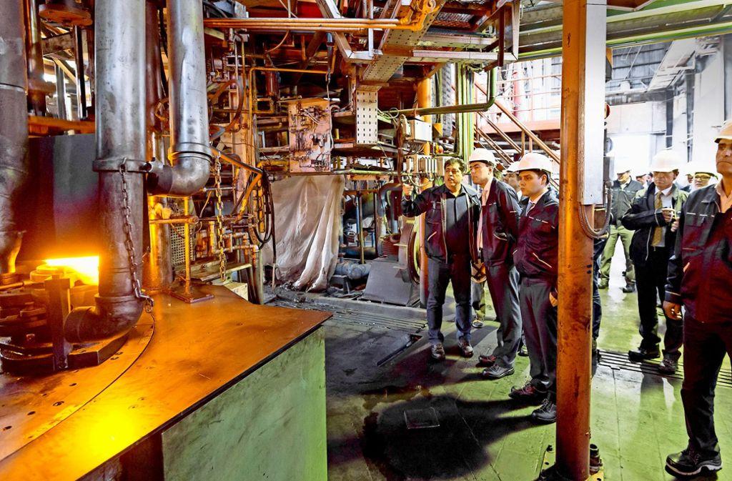 Unternehmer aus dem Südwesten   haben 2015  gemeinsam mit  dem damaligen Wirtschaftsminister Nils Schmid   iranische Unternehmen besucht. Foto: Ministerium für Finanzen und Wirtschaft