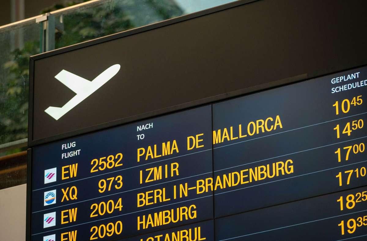 Auch von Stuttgart gehen wieder Flieger nach Mallorca Foto: LICHTGUT/Leif Piechowski/Leif Piechowski