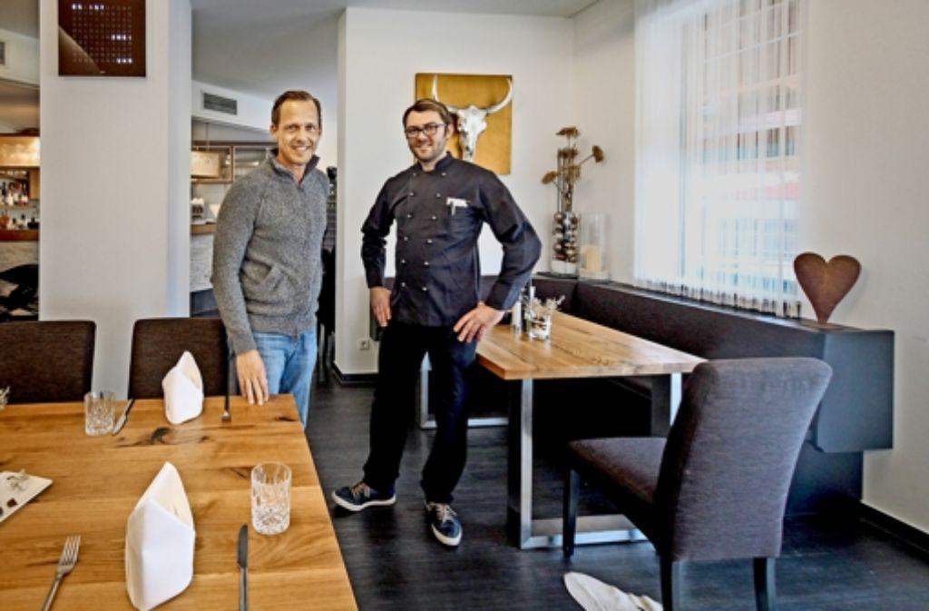 Ambitioniert: Steffen Wolber (links) und Lukas Malejka (rechts) Foto: factum/Granville