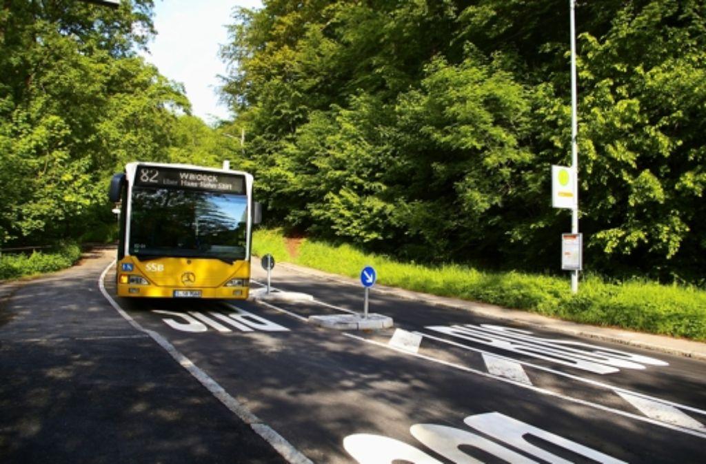 Die Verkehrsinsel an der Straße Im Elsental Foto: Alexandra Kratz