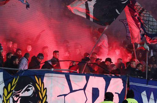 Verfahren gegen den Karlsruher SC nach Pyroshow eingestellt