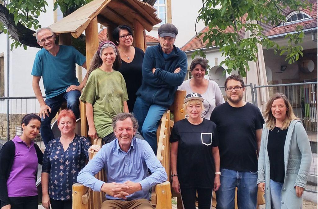 Das Team des Kinderhauses Am Römerkastell. Foto: Ruth Lachenmeier (z)