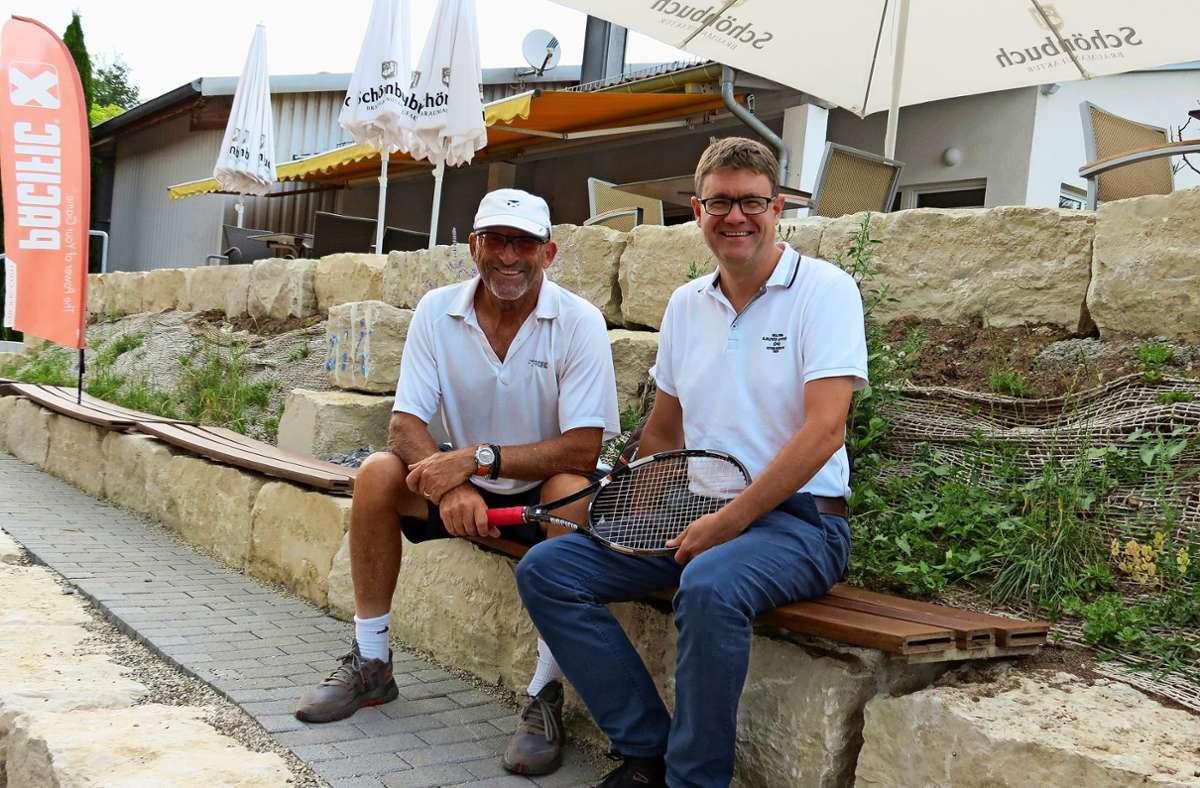Peter Sachse (l.) und Tobias Steinberg freuen sich über die Foto: Zeyer