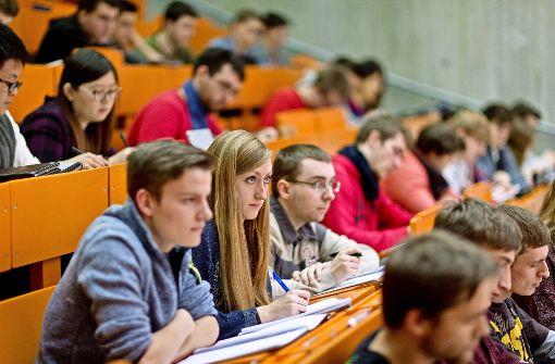 Hochschulen erleben Bewerbungsboom