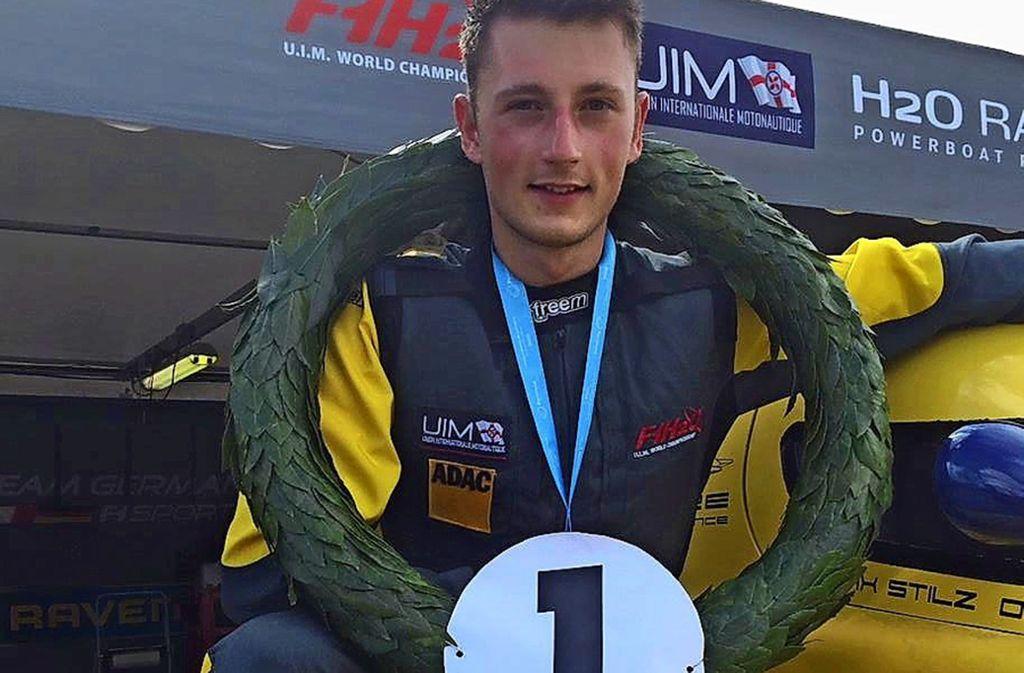 Erster: Maximilian Stilz  aus Rommelshausen ist Formel-4-Weltmeister. Foto: Privat