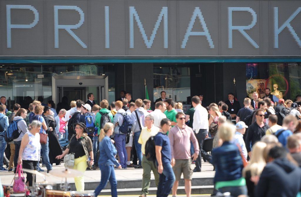 Eine Primark-Filiale in Berlin – die Textilkette eröffnet ihre 21. Filiale in Mannheim. Foto: dpa