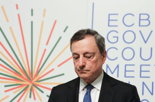 Am Ende gibt es noch Lob für Mario Draghi