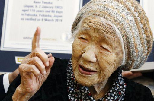 Mehr als 70000 Menschen sind 100 oder älter