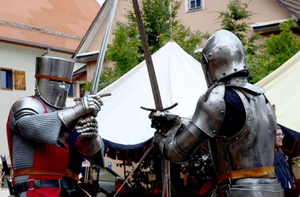 In Friolzheim kreuzen die Schlegler in diesem Jahr die Schwerter. Foto: privat