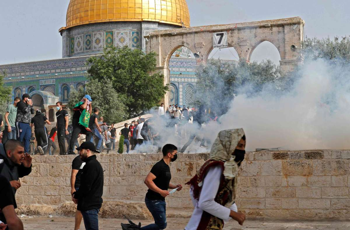 Der Tempelberg ist für Juden wie Muslime von großer Bedeutung. Foto: AFP/AHMAD GHARABLI