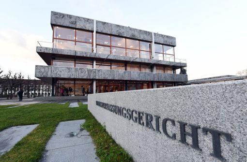 Verdächtiger Gegenstand: Bundesverfassungsgericht abgesperrt