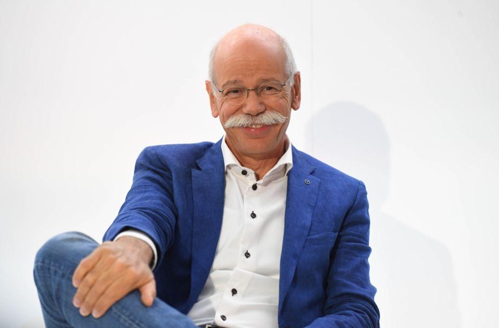 Soll bei den Grünen über Klima- und Verkehrspolitik sprechen: Daimler-Chef Dieter Zetsche. Foto: dpa