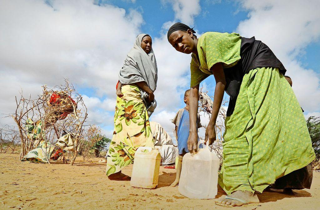 Die zunehmende Trockenheit in vielen Regionen ist eine der Folgen des Klimawandels –  doch wie schwierig Klimaschutz in der Praxis ist, zeigt ein Rollenspiel mit Studenten. Foto: dpa
