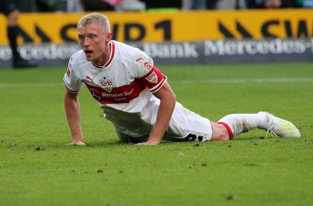 Ehe ihn eine Knieverletzung ausbremste, war Andreas Beck unter dem Interimstrainer Nico Willig zwischenzeitlich auch Kapitän beim VfB. Foto: Baumann
