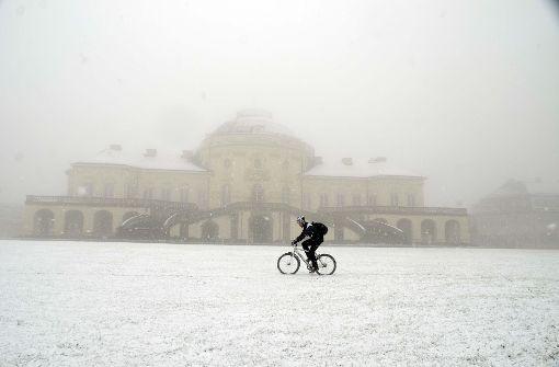 Der Schnee ist zurück in Stuttgart