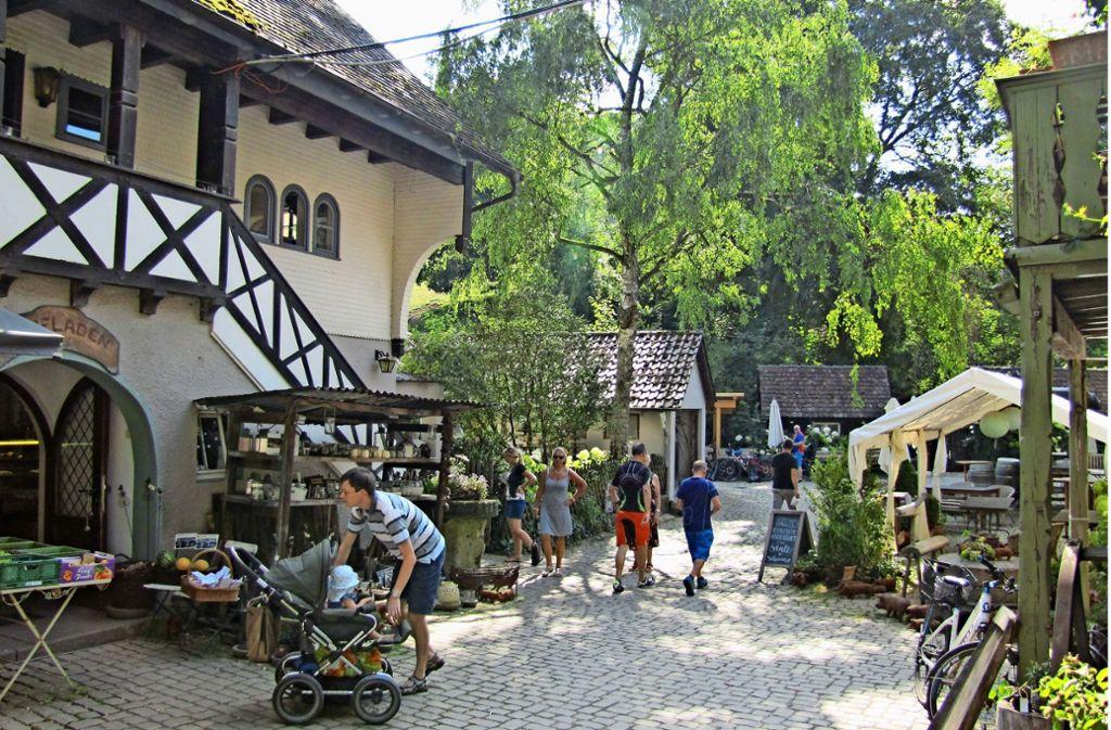Die Eselsmühle im Siebenmühlental zieht eher Gäste aus der Region an. Foto: Claudia Barner