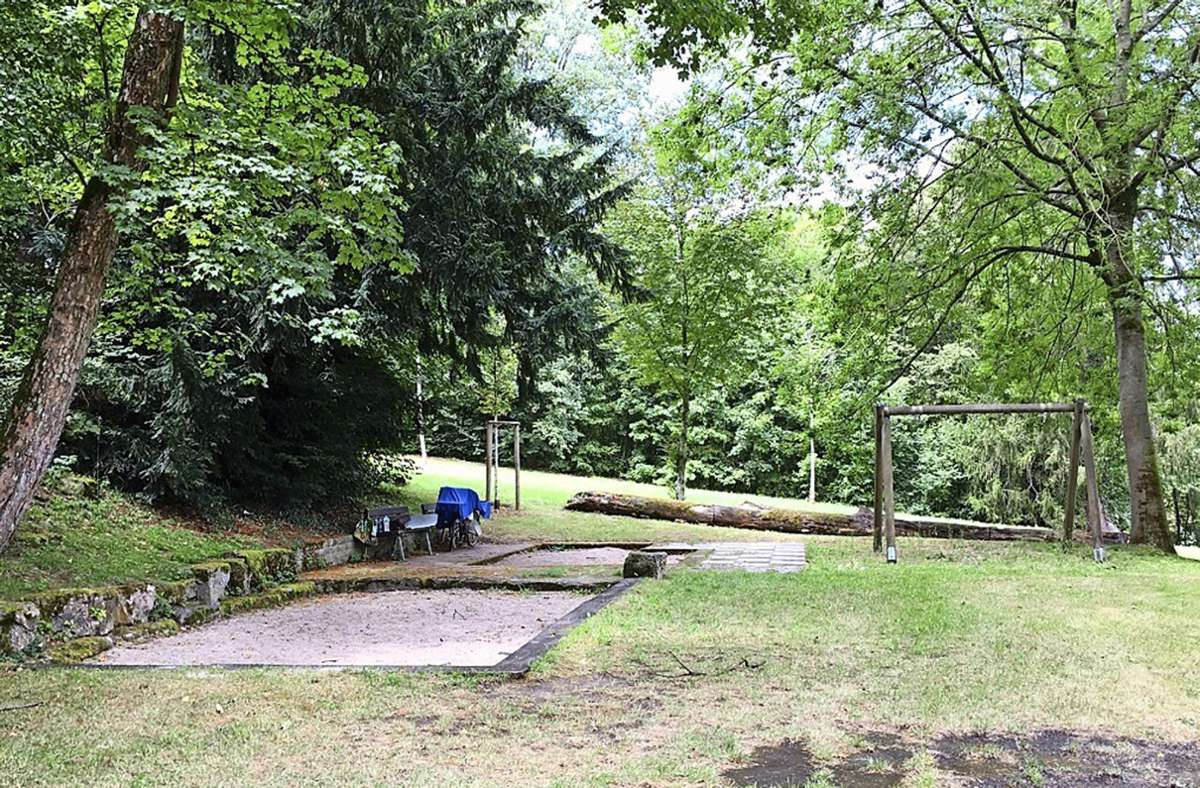 Der Spielplatz im Schlosspark soll saniert werden. Foto: Bürgerverein Mühlhausen