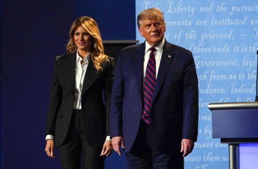 US-Präsident und Ehefrau positiv auf Coronavirus getestet
