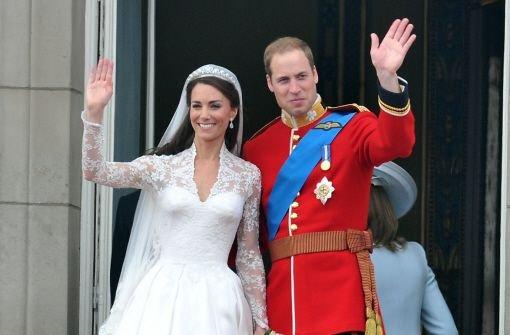 William und Kate flittern diskret