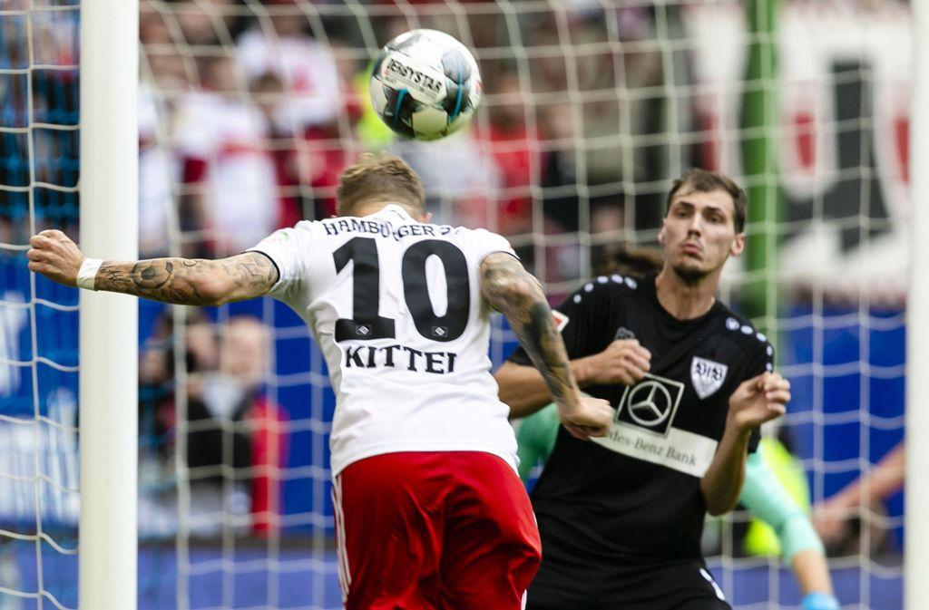 Der VfB Stuttgart kommt beim HSV nicht richtig in Schwung. Foto: dpa/Frank Molter