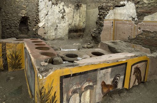 "Antike ""Snackbar"" in versunkener Stadt ausgegraben"