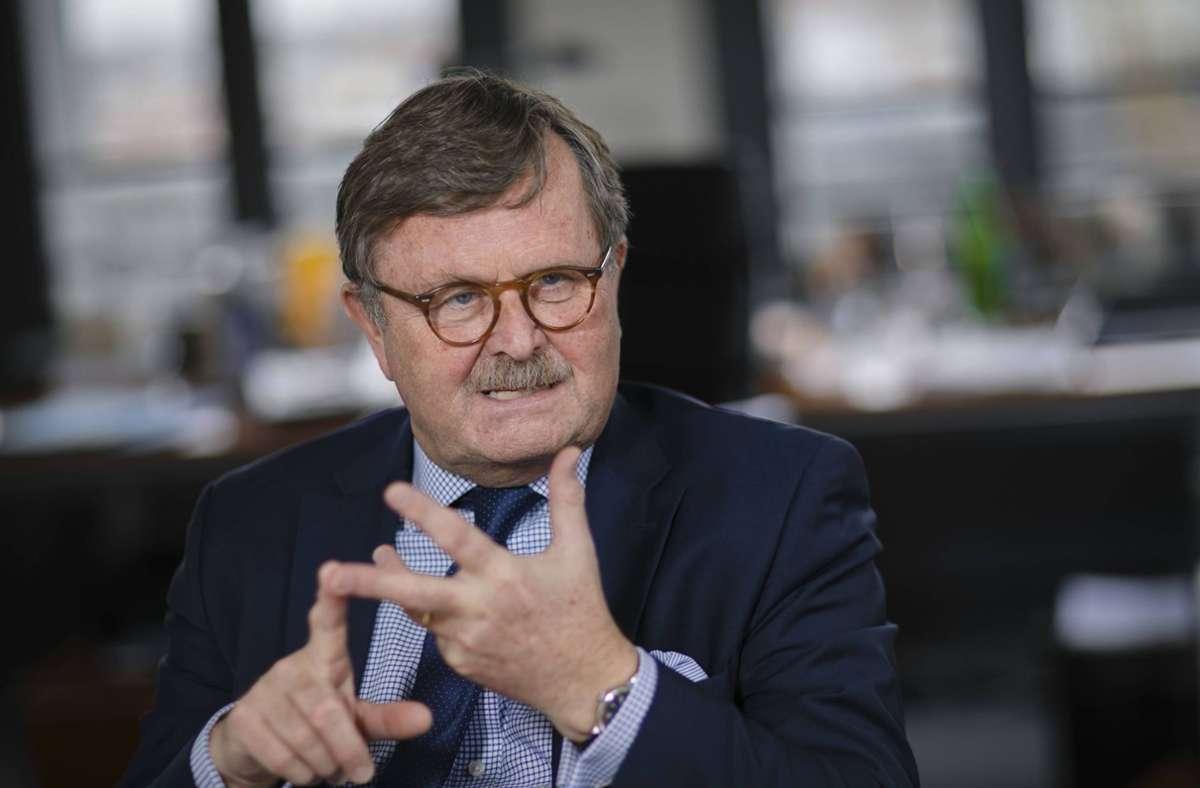 Der Vorsitzende des Weltärztebundes, Frank Ulrich Montgomery Foto: imago images/photothek/Thomas Trutschel/photothek.net