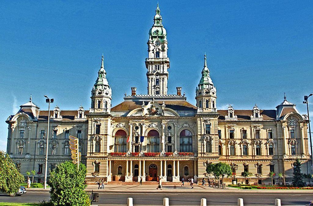 Dies ist das Rathaus von Györ, Amtssitz des Bürgermeisters. Foto: Stadt Sindelfingen