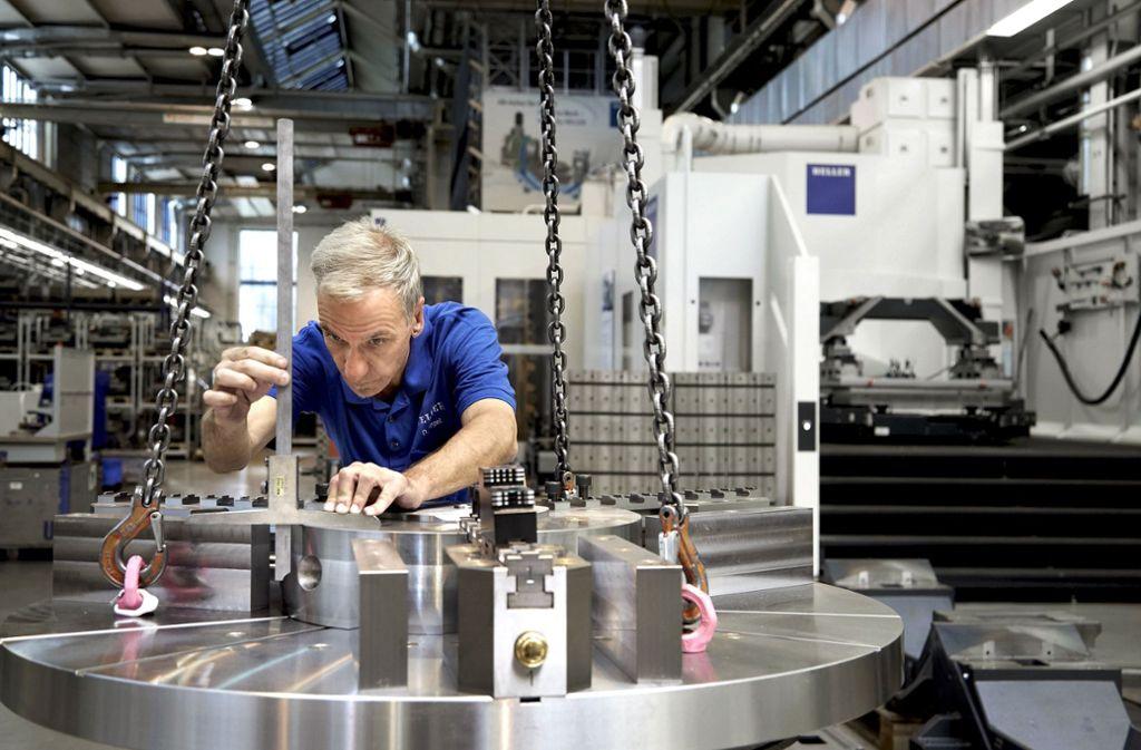 Beim Nürtinger Werkzeugmaschinenhersteller Heller laufen die Geschäfte  in Europa am besten. Foto: Heller