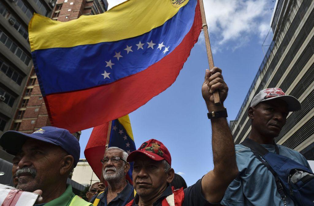 Die humanitäre Hilfe für Venezuela aus dem Ausland ist zu einem Machtkampf geworden. Foto: AFP