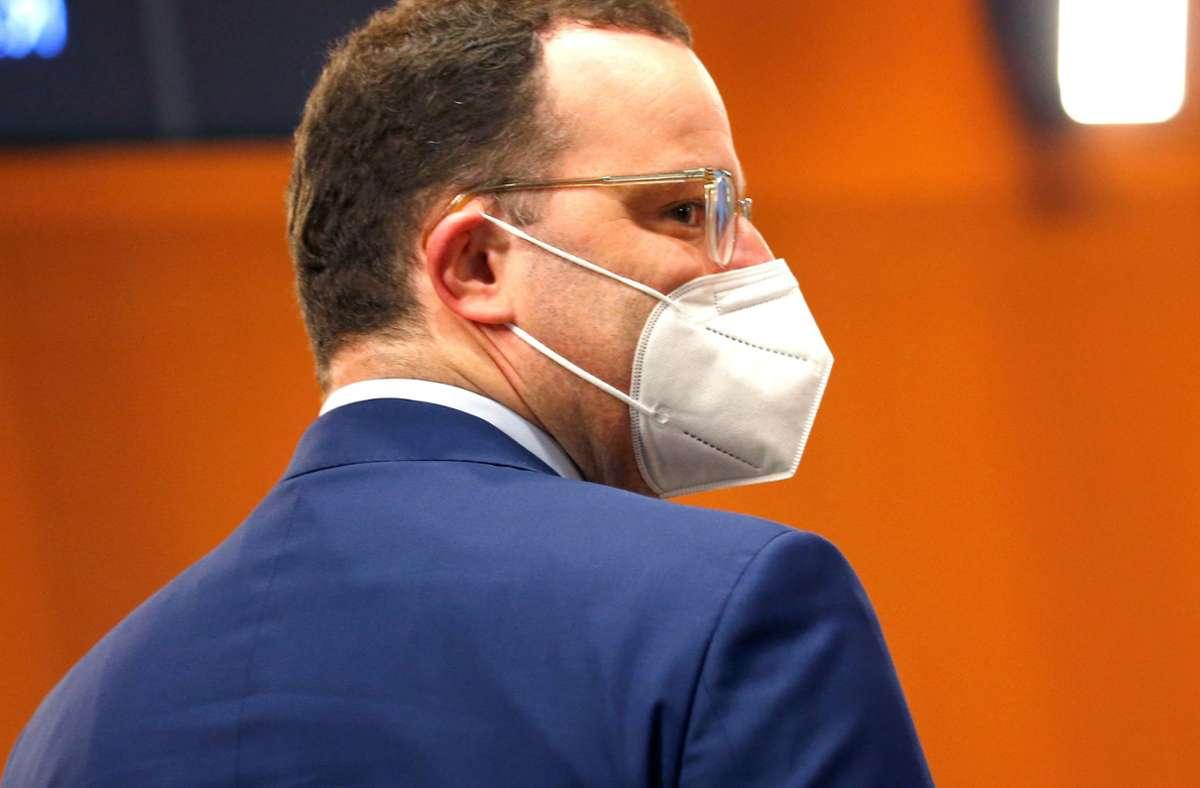 """Jens Spahn warnt vor einem """"Sorgenherbst"""". Foto: AFP/MICHELE TANTUSSI"""