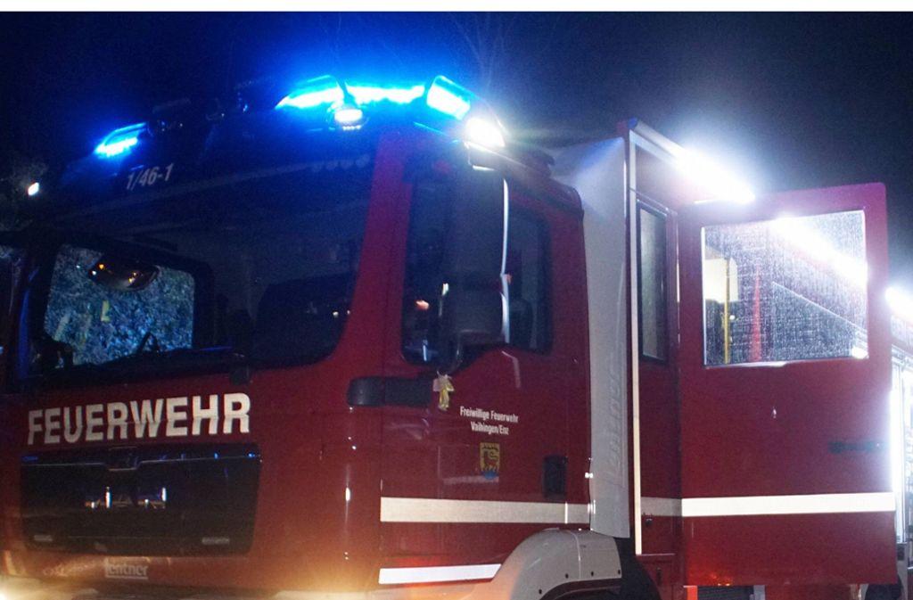 Die Feuerwehr spülte die Kanalisation und führte Messungen durch in Ketsch (Rems-Murr-Kreis). Foto: SDMG (Symbolbild)