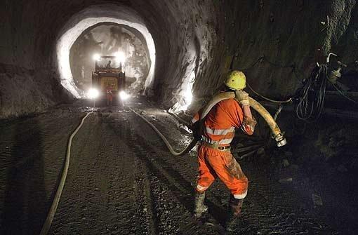 Beim Tunnelbau wird es wohl um Großaufträge gehen. Foto: dpa