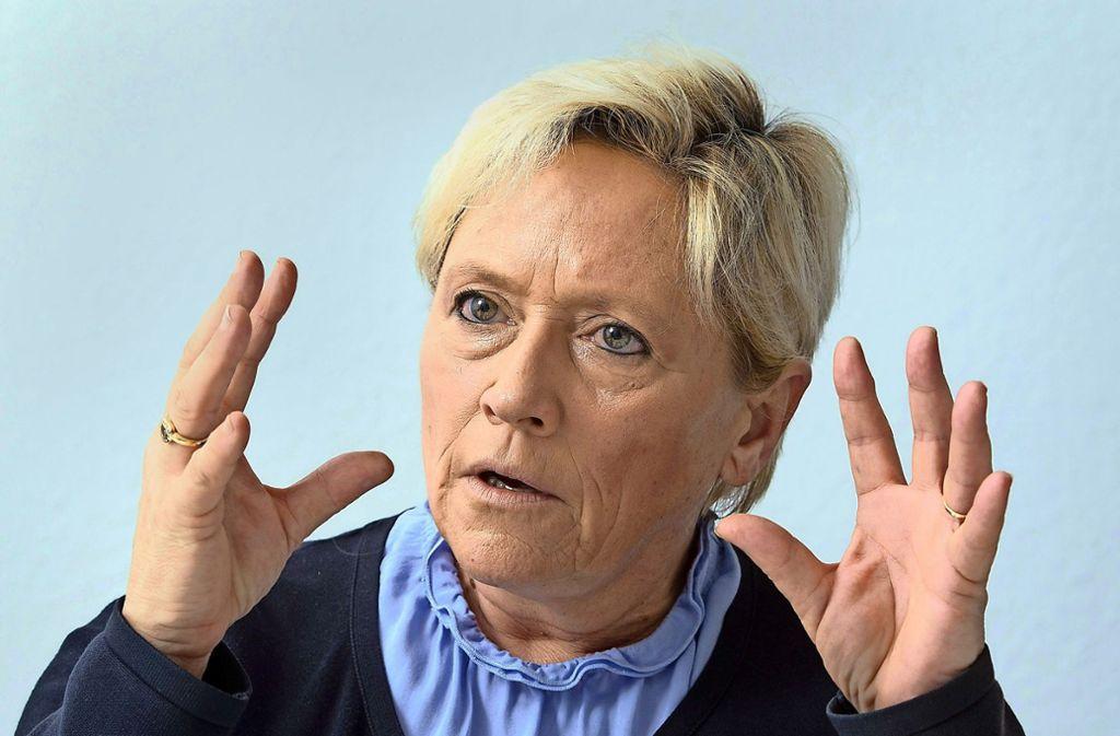 Führt das  Kultusministerin mit harter Hand: Susanne Eisenmann. Foto: dpa