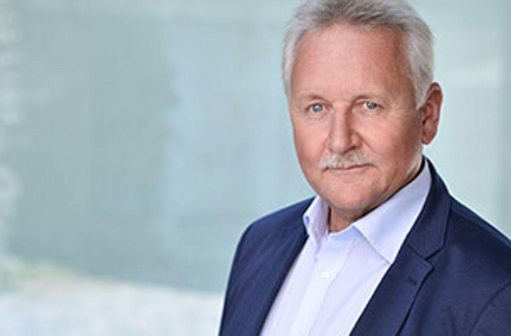 Helmut Mahler von der Ulmer IT-Sicherheitsfirma Code White zeigt, dass Gründen auch mit 58 Jahren noch möglich ist. Foto: Code White