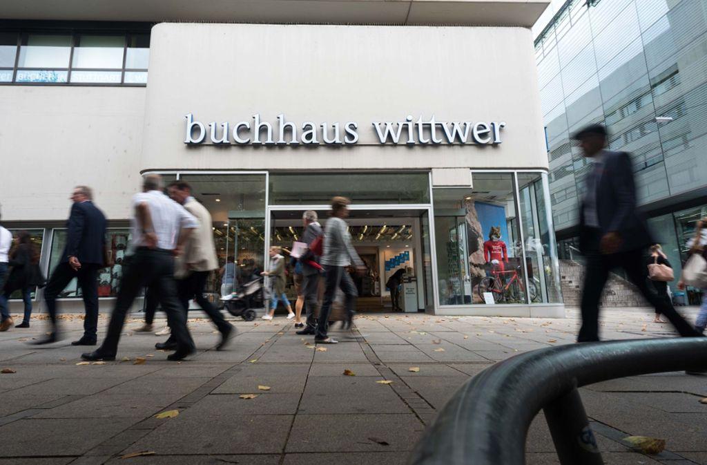 Das Buchhaus Wittwer wird künftig Wittwer-Thalia heißen. Foto: Lichtgut/Max Kovalenko