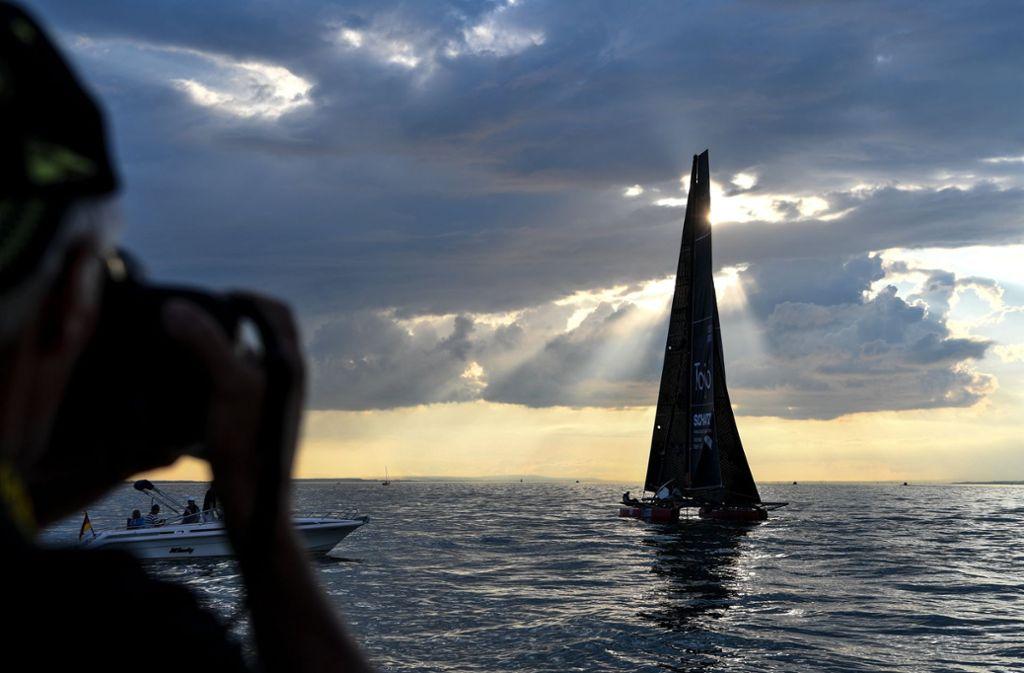 Mitsuhiro Iwamoto hat als erster blinder Segler den Pazifik überquert (Symbolbild). Foto: dpa