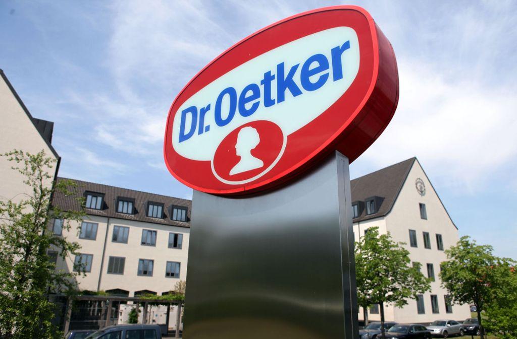"""Dr. Oetker darf sich mit der fragwürdigen Auszeichnung """"Mogelpackung des Jahres"""" schmücken. Foto: dpa"""