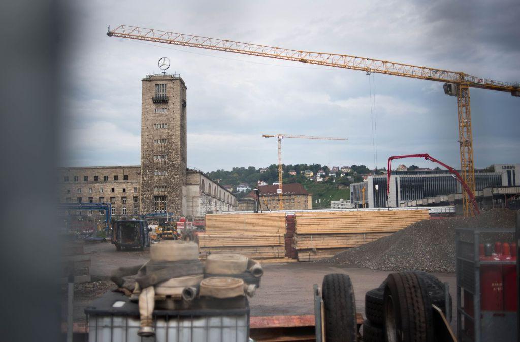 Die Bahn baut – und die Stadt denkt zu wenig an die Zeit nach der Fertigstellung. Foto: Lichtgut/Kovalenko