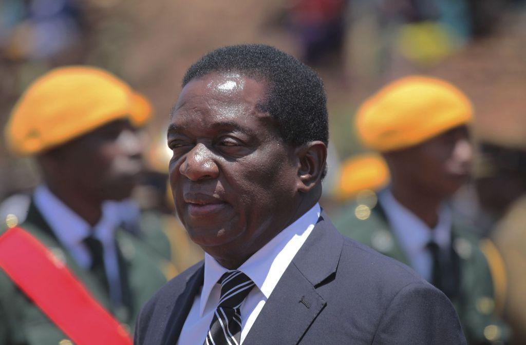 Gewieft und skrupellos: Emmerson Mnangagwa  Gewiefter und brutaler Drahtzieher: Emmerson Mnangagwa Foto: AP